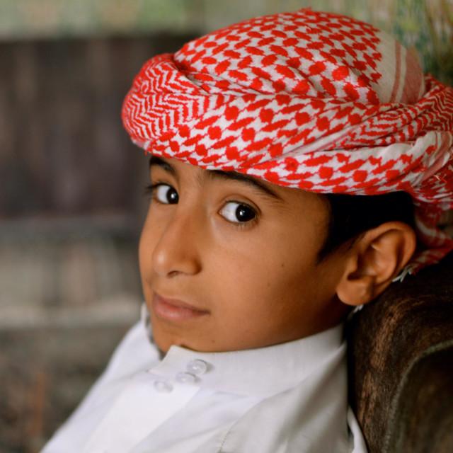 """""""Yemeni boy"""" stock image"""