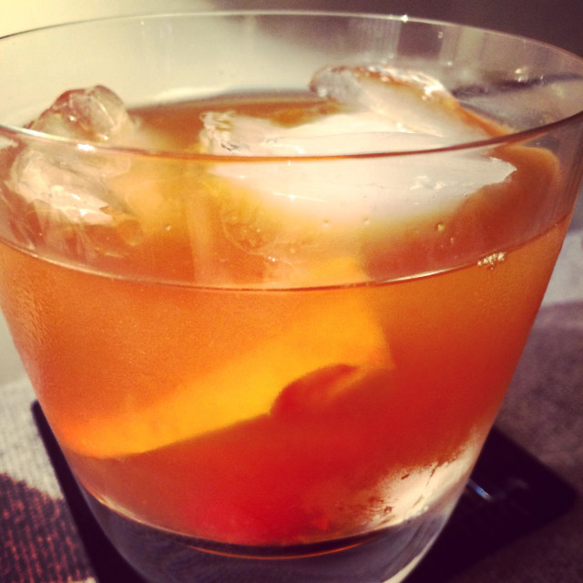 """""""Old fashioned cocktail"""" stock image"""