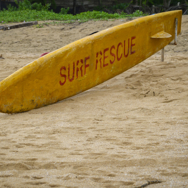 """Surf Rescue"" stock image"