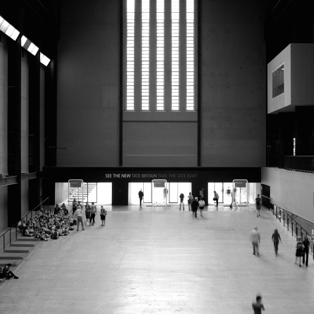 """The Tate Modern in London"" stock image"
