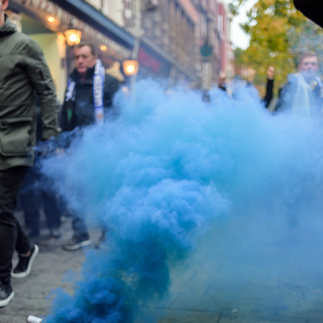 """""""Leicester City vs Club Brugge,UK."""" stock image"""