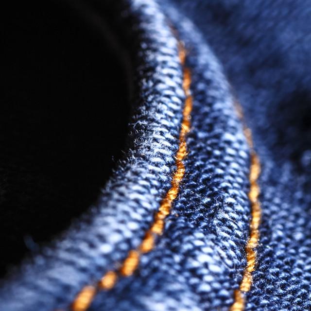 """Blue denim"" stock image"