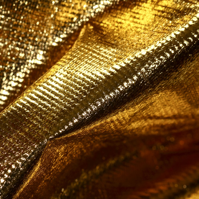 """Gold cloth"" stock image"