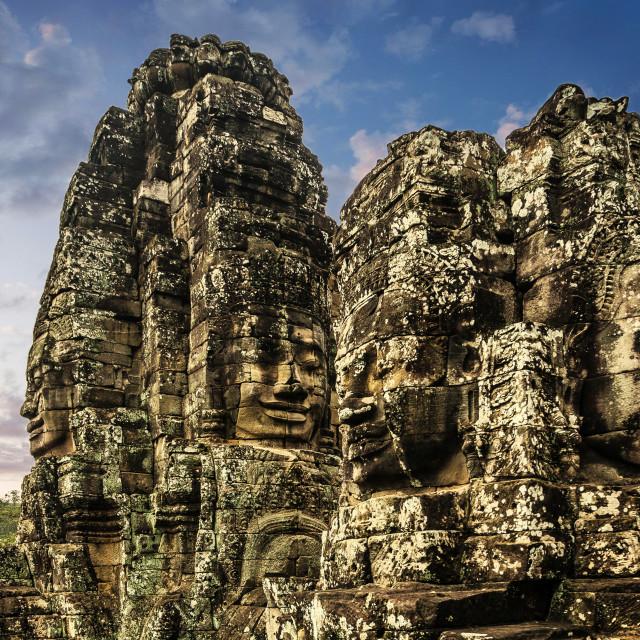 """Angkor Bayon Temple"" stock image"