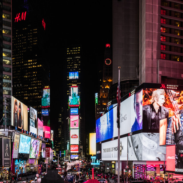 """""""Time Square, New York City"""" stock image"""