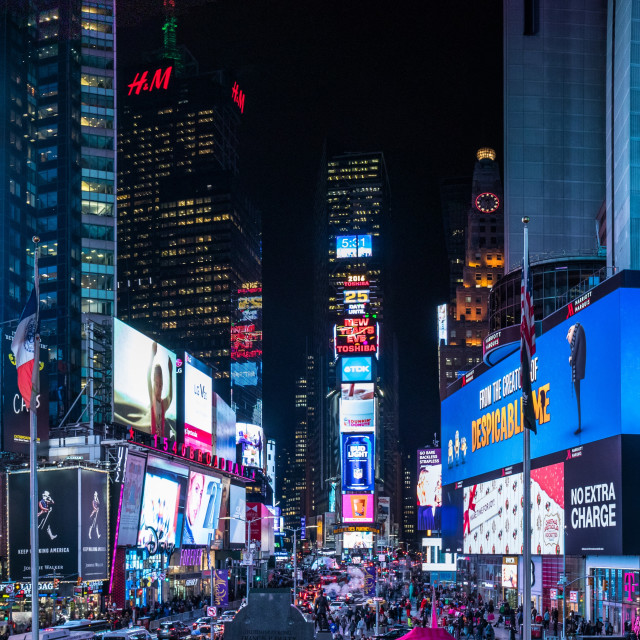 """Time Square, New York City - Panorama"" stock image"