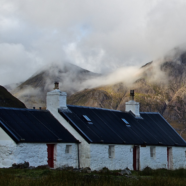 """Blackrock Cottage"" stock image"