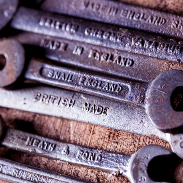 """Made in England"" stock image"