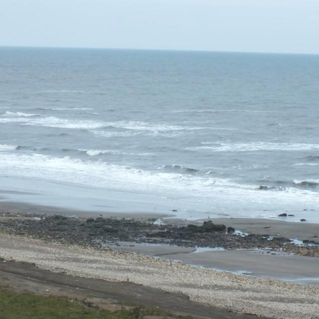 """""""Horden beach"""" stock image"""
