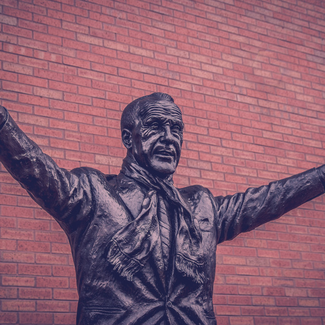 """""""Bill Shankly statue"""" stock image"""