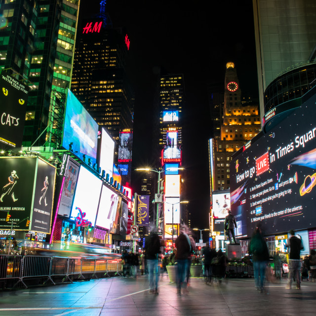 """Broadway, Time Square, New York City"" stock image"