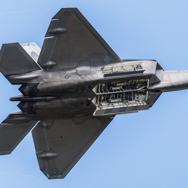 """F-22 Raptor"" stock image"