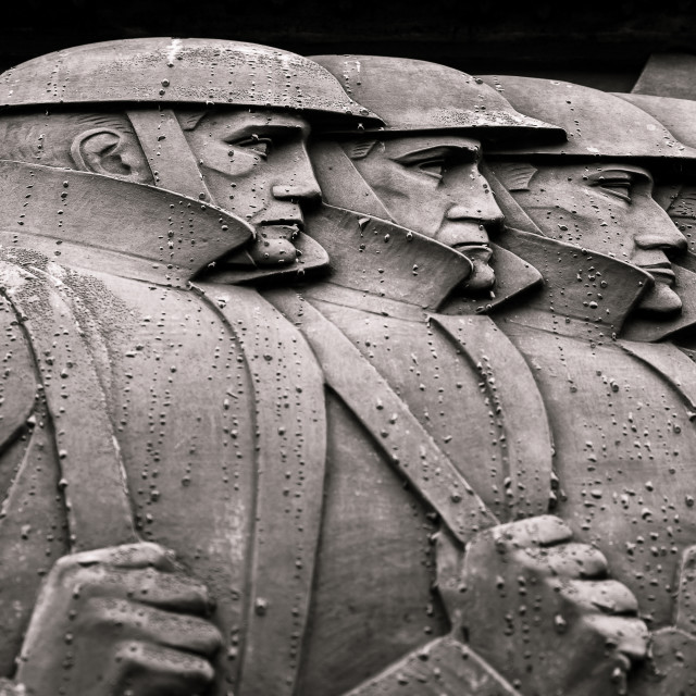 """Liverpool Cenotaph close-up"" stock image"
