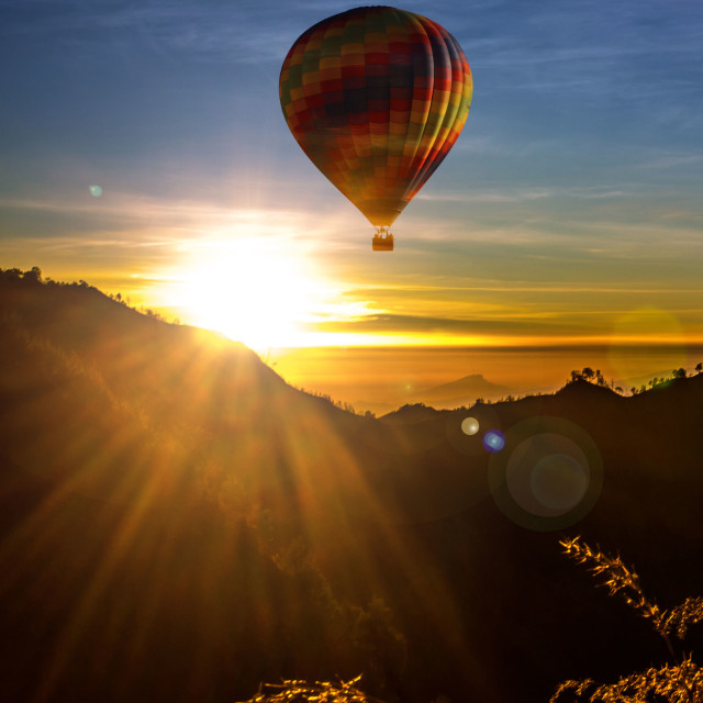 """Air Balloon"" stock image"