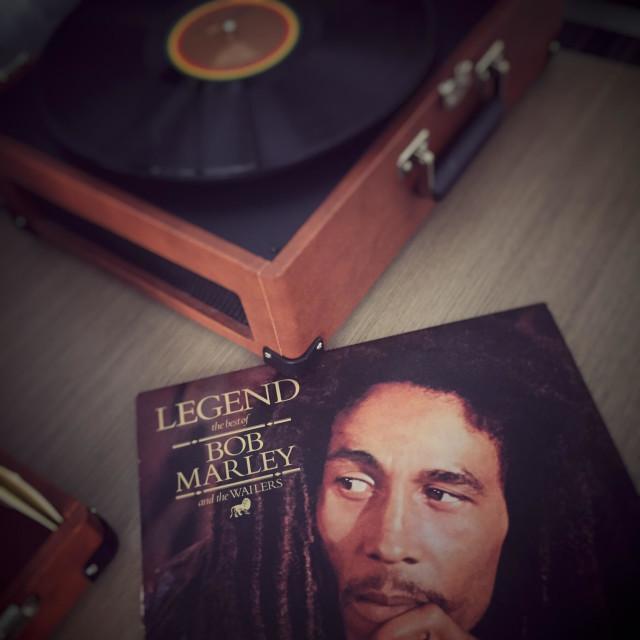 """Bob Marley"" stock image"