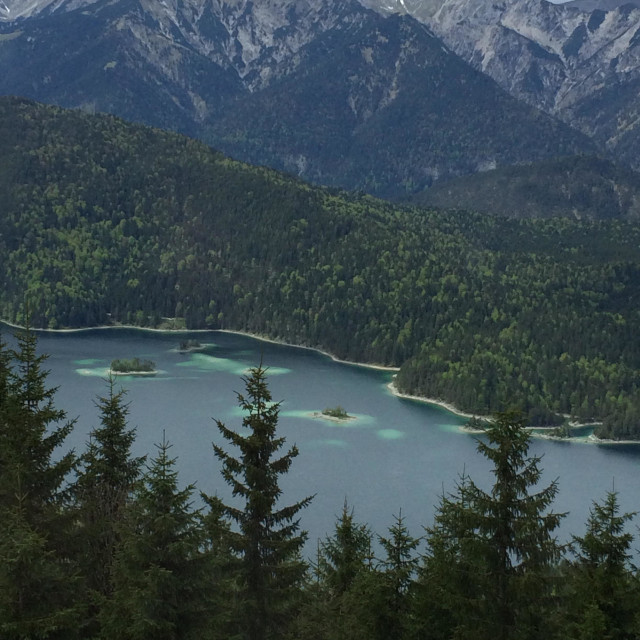 """Bavaria Zugspitze no Filter"" stock image"