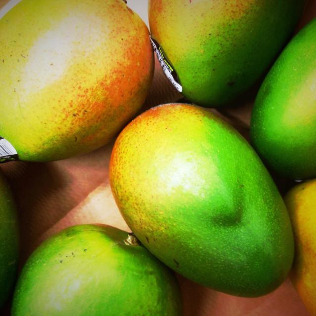 """""""Mangoes"""" stock image"""