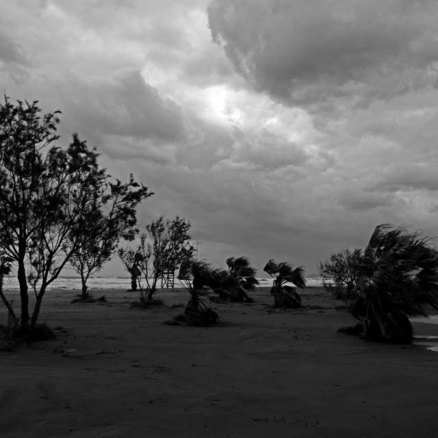 """Rethimno beach"" stock image"
