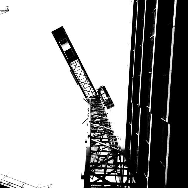 """London. Construction"" stock image"