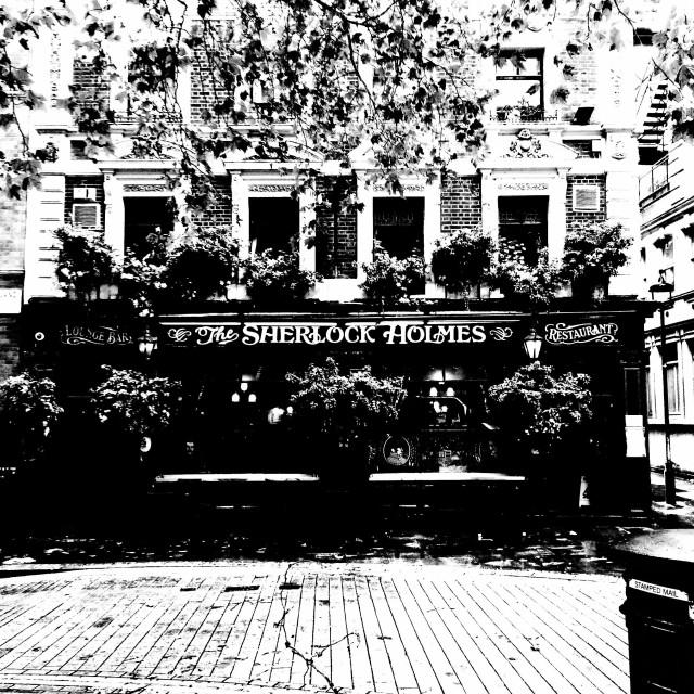 """London. The pub."" stock image"