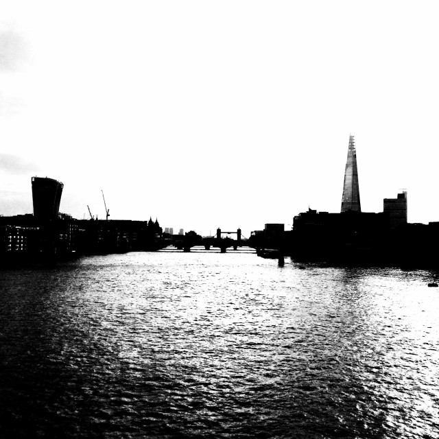 """London. River Thames"" stock image"
