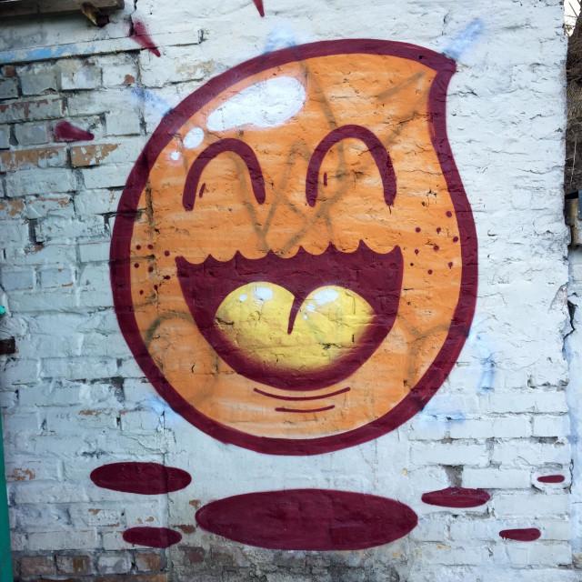 """""""Happy Smiley :)"""" stock image"""
