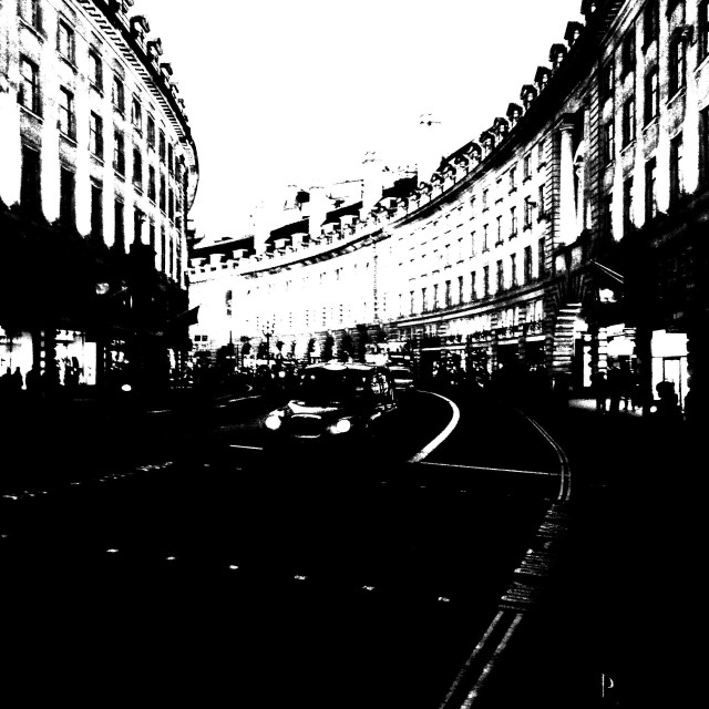"""Central London. Regent Street"" stock image"