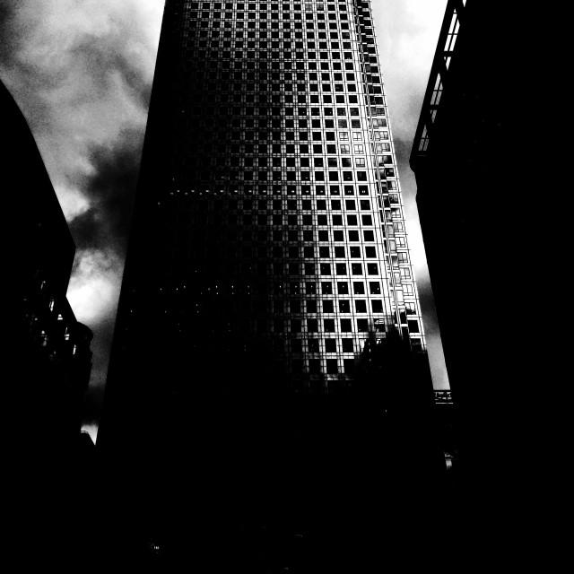 """London. Canary Wharf"" stock image"