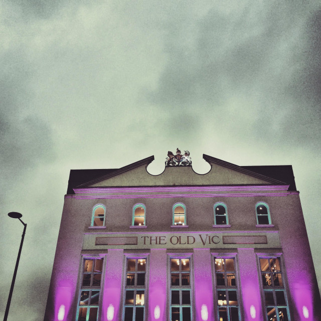 """""""The Old Vic Theatre in London"""" stock image"""