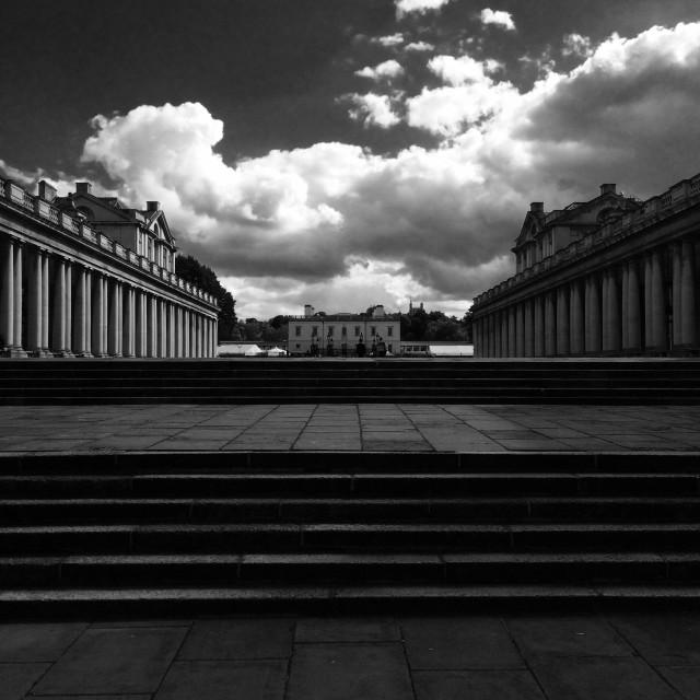 """""""London. The Greenwich university"""" stock image"""