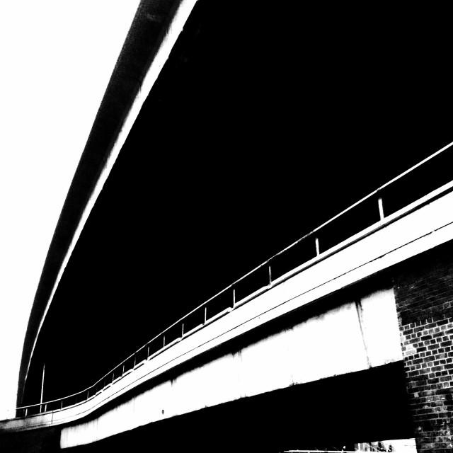 """""""London. The black bridge"""" stock image"""