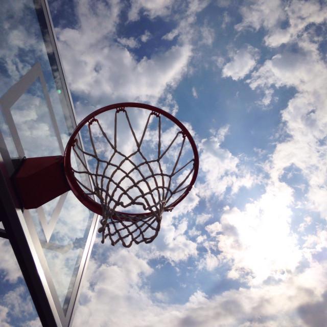 """""""Basketball hoop"""" stock image"""