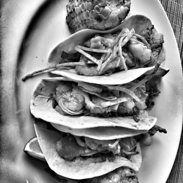 """Fish tacos"" stock image"