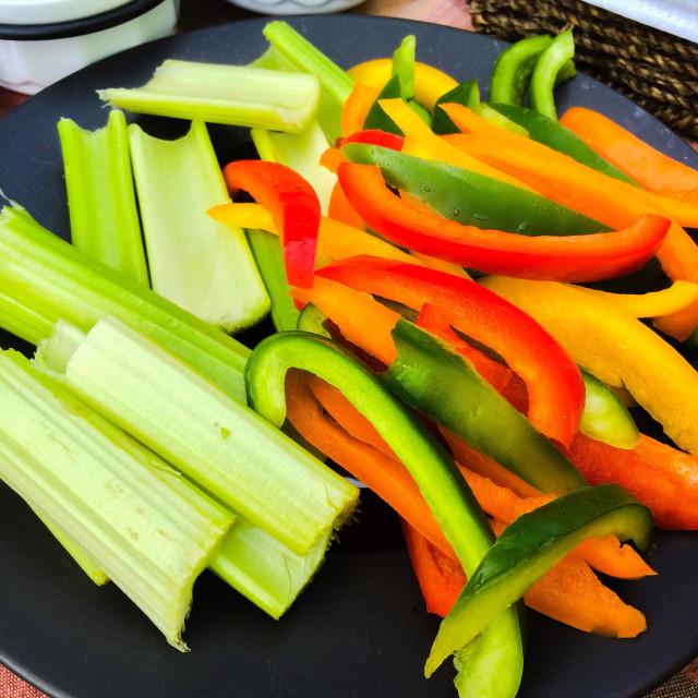 """""""Vibrancy veggies"""" stock image"""