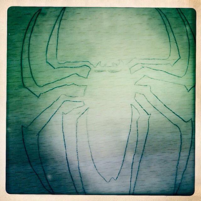 """""""School doodle Spider"""" stock image"""