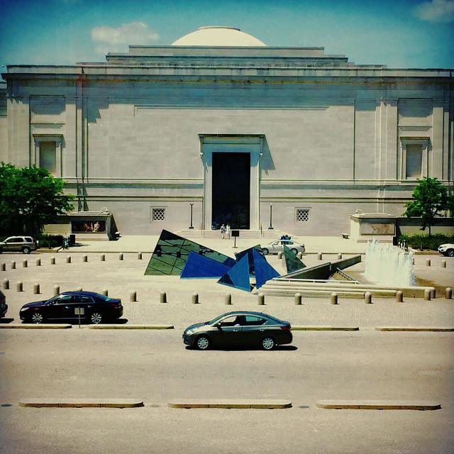 """Smithsonian National Gallery of Art - Washington, D.C. USA"" stock image"