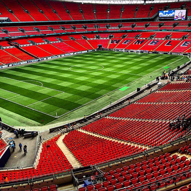 """""""Cup final Wembley"""" stock image"""