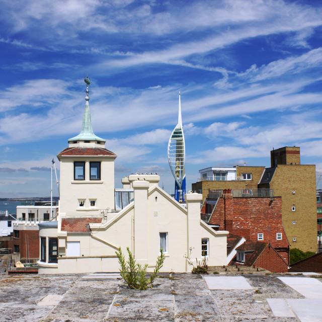 """Portsmouth Summer Scenes"" stock image"
