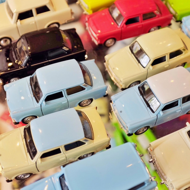 """""""Toy car selection"""" stock image"""
