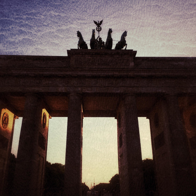 """Berlin Brandenburg Gate"" stock image"