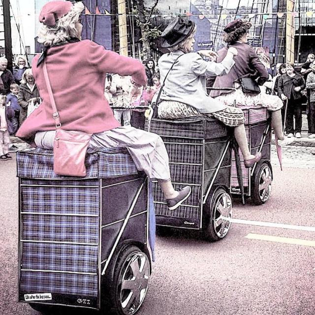 """Granny's in Liverpool"" stock image"
