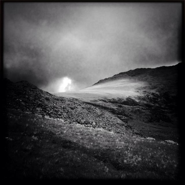 """Lake District Mountain top"" stock image"