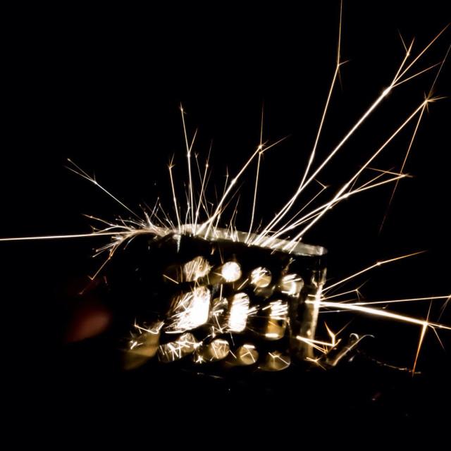 """""""Lighter spark"""" stock image"""