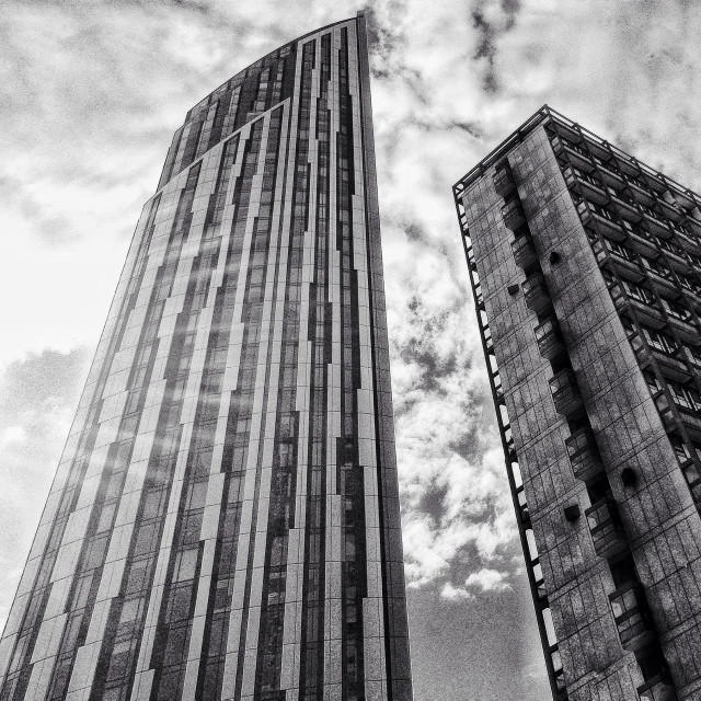 """""""The Strata building,Elephant and Castle, London."""" stock image"""