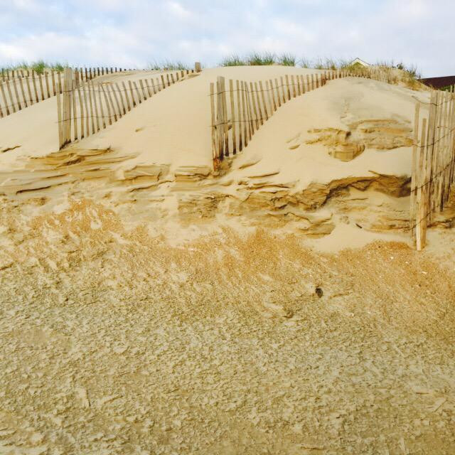 """""""Outer banks sand"""" stock image"""