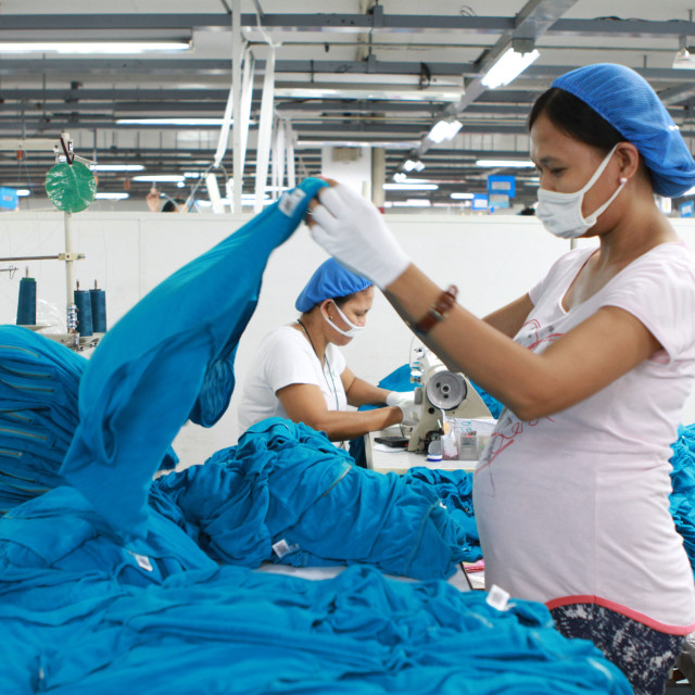 """Garment Factory"" stock image"