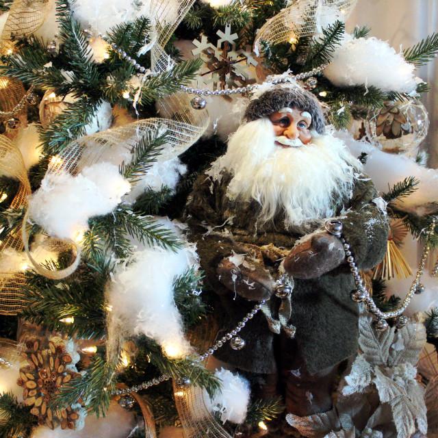 """Christmas Trees Around The World Exhibit"" stock image"
