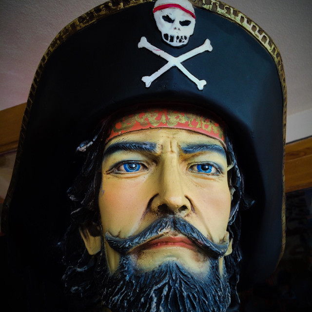 """Pirate mannequin"" stock image"