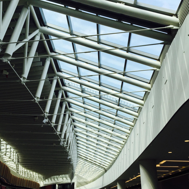 """Roof truss"" stock image"