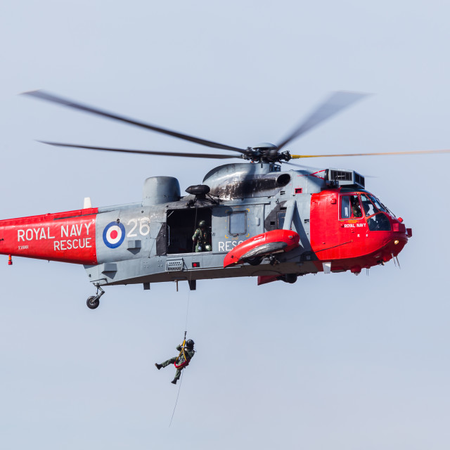 """Seaking SAR demo"" stock image"
